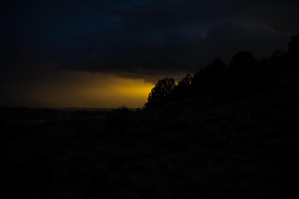 Twilight at the Edge of the World: Wyoming Photographed, Night Coming @SteveGiovinco