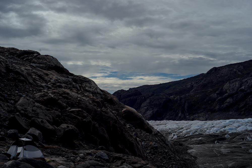 Why I Slept Next to a Glacier: An Art/Photography Project in Greenland Capturing the Environment, Glaciers and Norse History at Night: Campsite