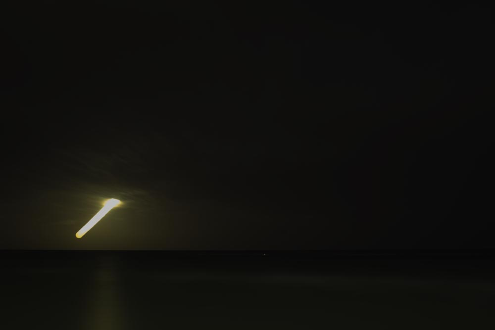 Artist-in-Residence, Rhapsodic Night Landscape Photographs and Exhibition in France: Moon