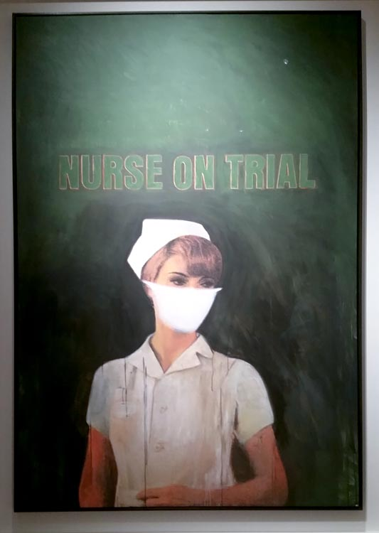 Nurse on Trial: Richard Prince, Christies @SteveGiovinco