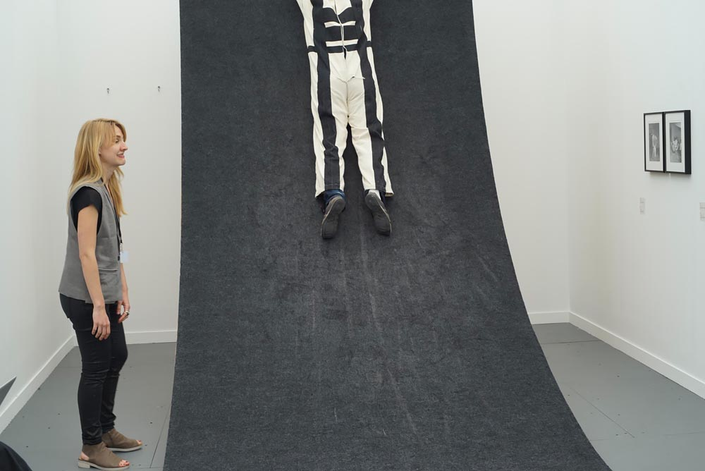 Frieze New York 2015 Photography: Few Classics, Mostly New,  Velcro Suit