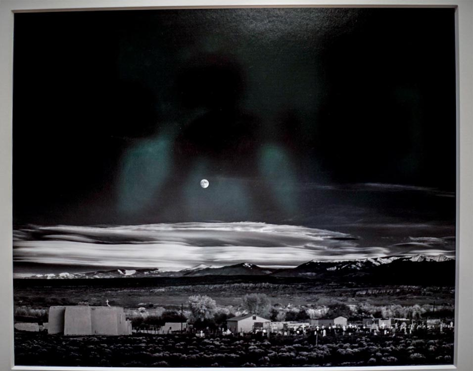 All Photography at the #NewWhitney Museum Ansel Adams, Moonrise America Is Hard to See Show @SteveGiovinco