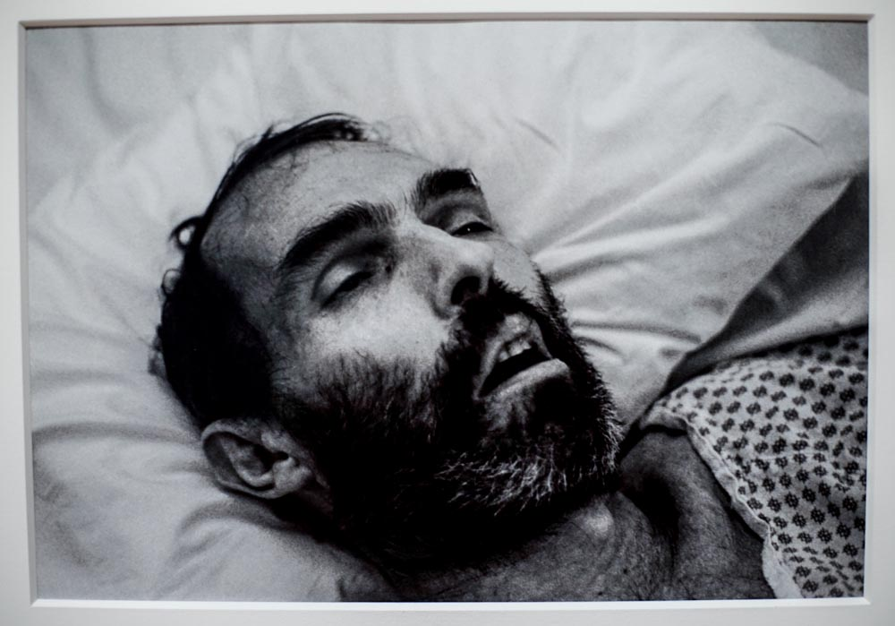 "David Wojnarowicz, Untitled, photograph in ""America Is Hard to See,"" Whitney Museum"