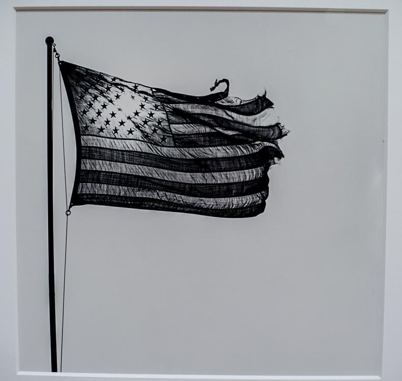 All Photography at the #NewWhitney Museum Robert Mapplethorpe, American Flag America Is Hard to See Show @SteveGiovinco