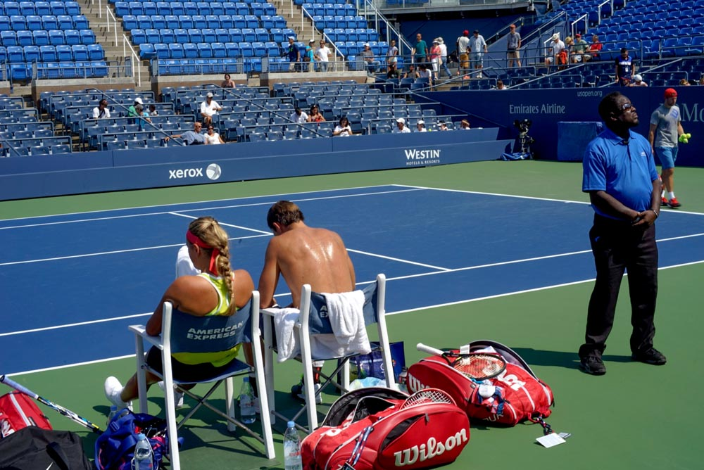 The Art of Tennis: Views of the US Open [Photograph], Victoria Azarenka, Steve Giovinco #USOpen