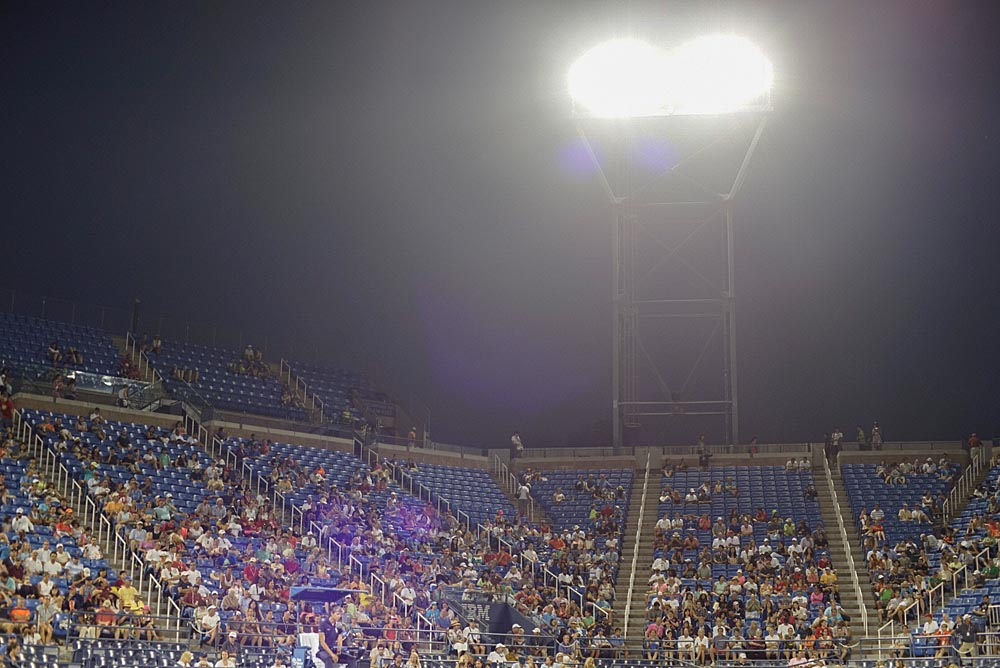 The Art of Tennis: Views of the US Open [Photographs], Armstrong Stadium, Steve Giovinco #USOpen