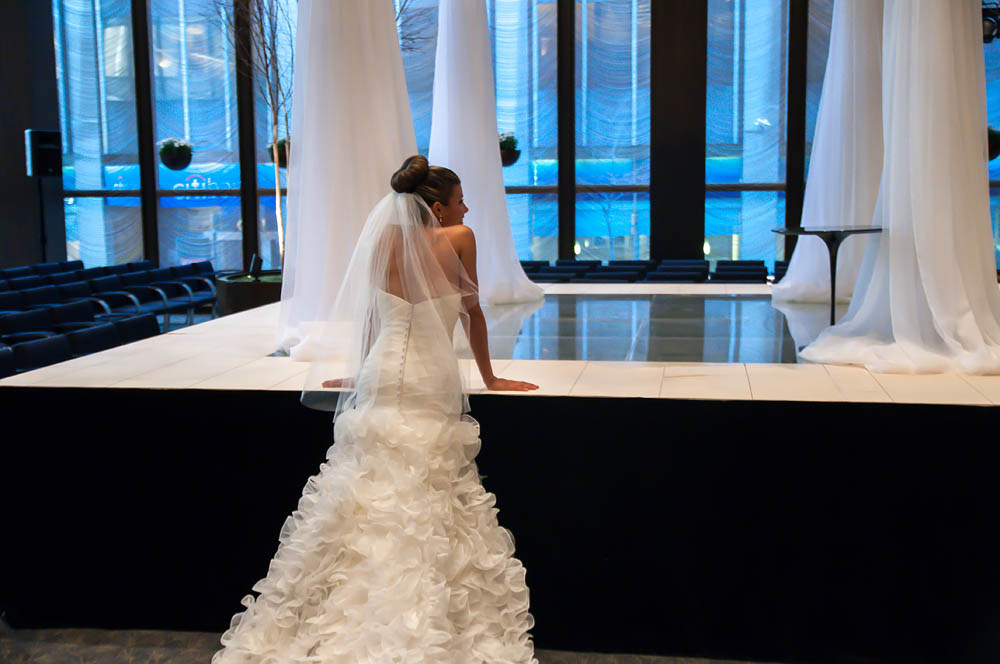 Fine art documentary wedding commission photography in NYC, just before the ceremony, Steve Giovinco