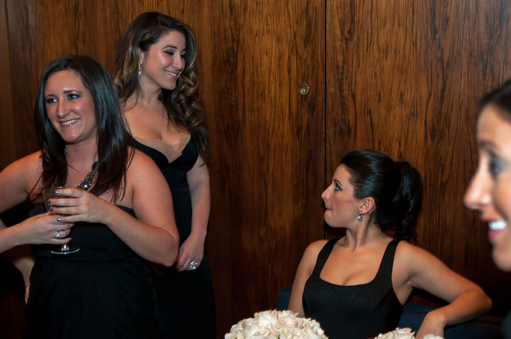 Fine art documentary wedding commission photography in NYC, beauty in profile, Steve Giovinco