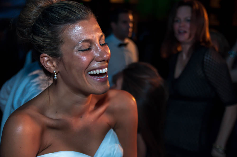 Fine art documentary wedding commission photography in NYC, euphoric bride, Steve Giovinco