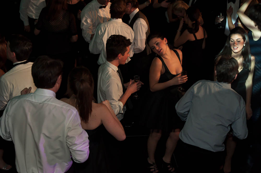Fine art documentary wedding commission photography in NYC, woman on dance floor, Steve Giovinco