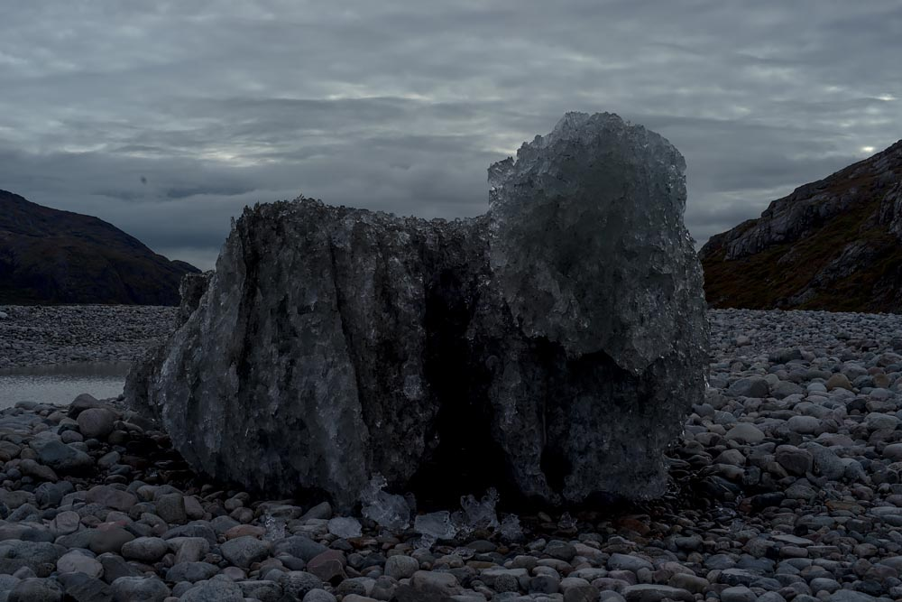 Why I Slept Next to a Glacier: An Art/Photography Project in Greenland Capturing the Environment, Glaciers and Norse History at Twilight: Ice Block
