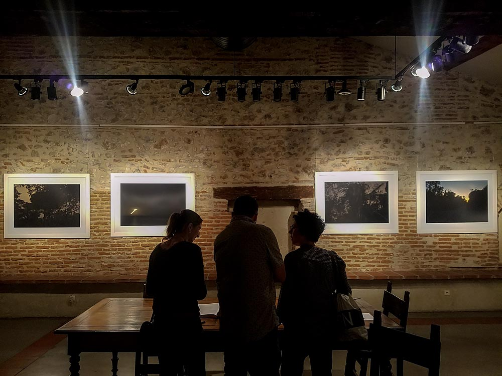 Artist-in-Residence, Rhapsodic Night Landscape Photographs and Exhibition in France, Canet Opening