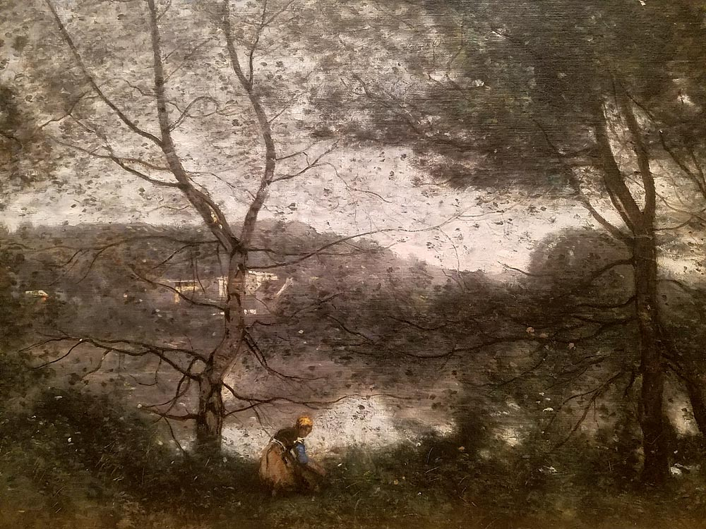 Artist-in-Residence, Rhapsodic Night Landscape Photographs and Exhibition in France: Corot