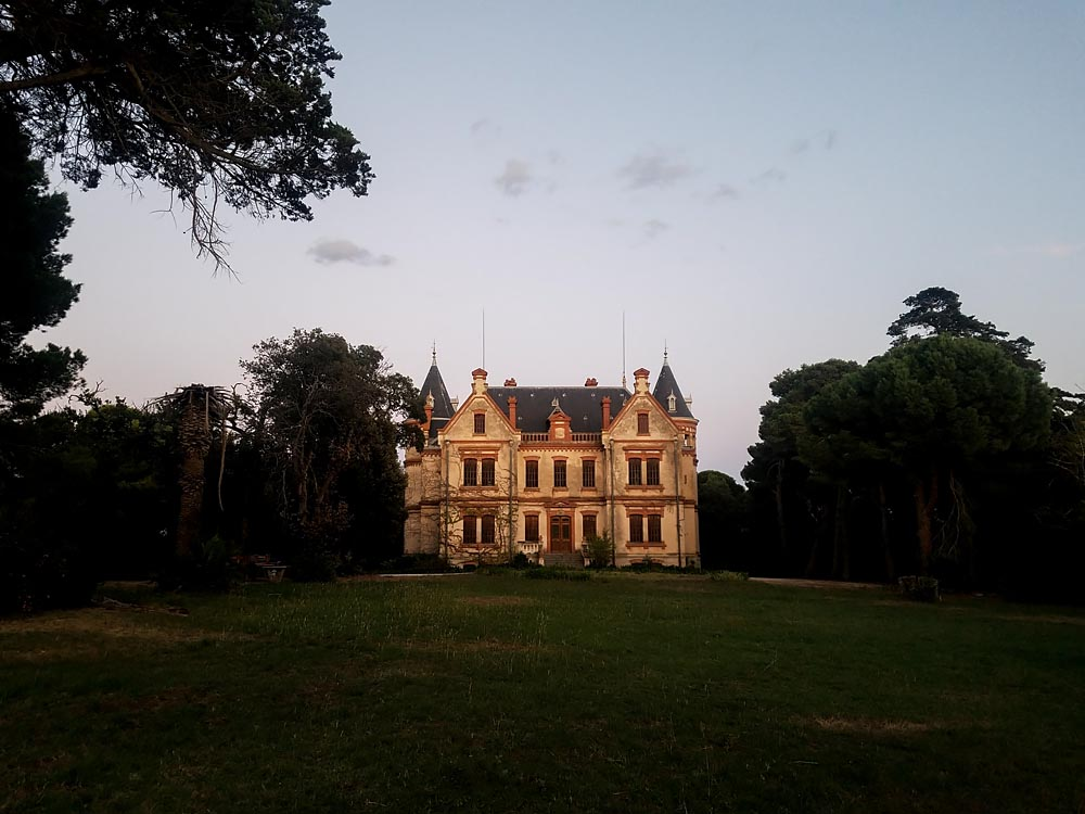 Artist-in-Residence, Rhapsodic Night Landscape Photographs and Exhibition in France: Chateau Twilight
